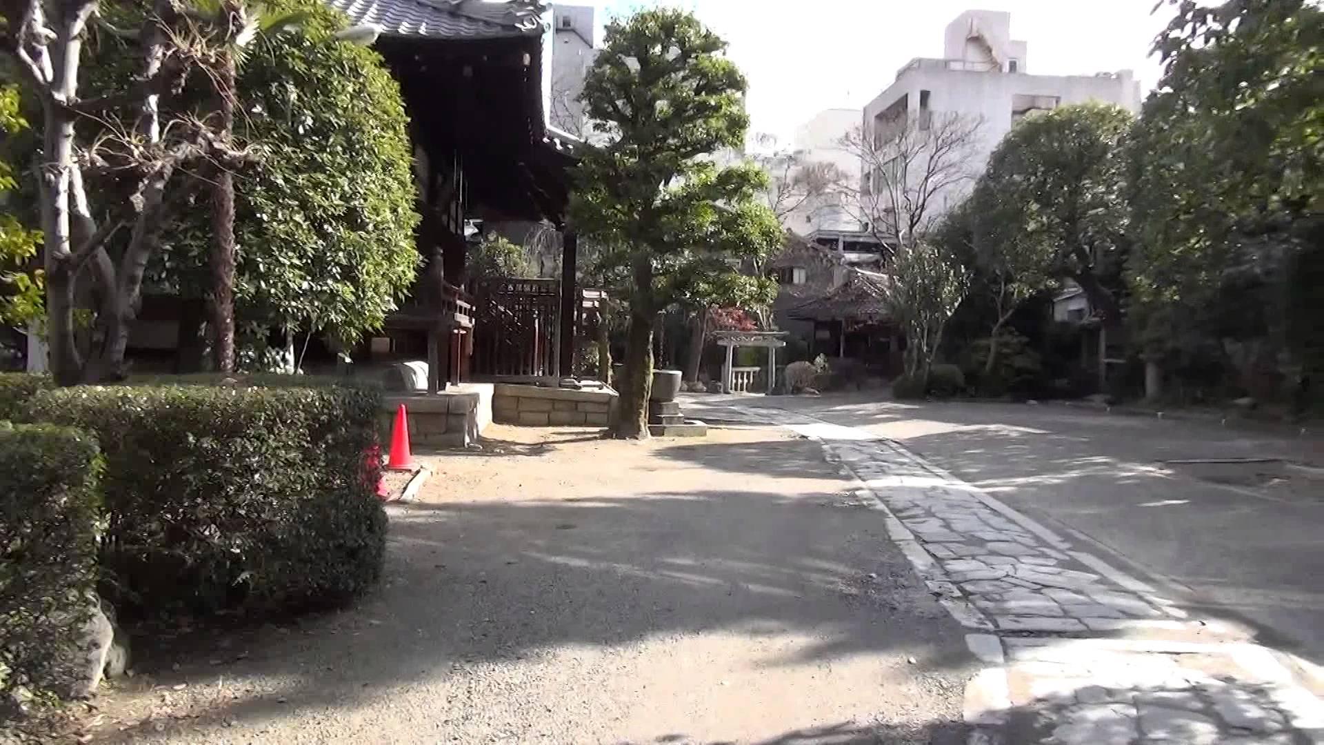寺町通の神社仏閣を全部まわろう編02 お寺なのに鳥居があった!不思議な「浄土宗 天性寺」