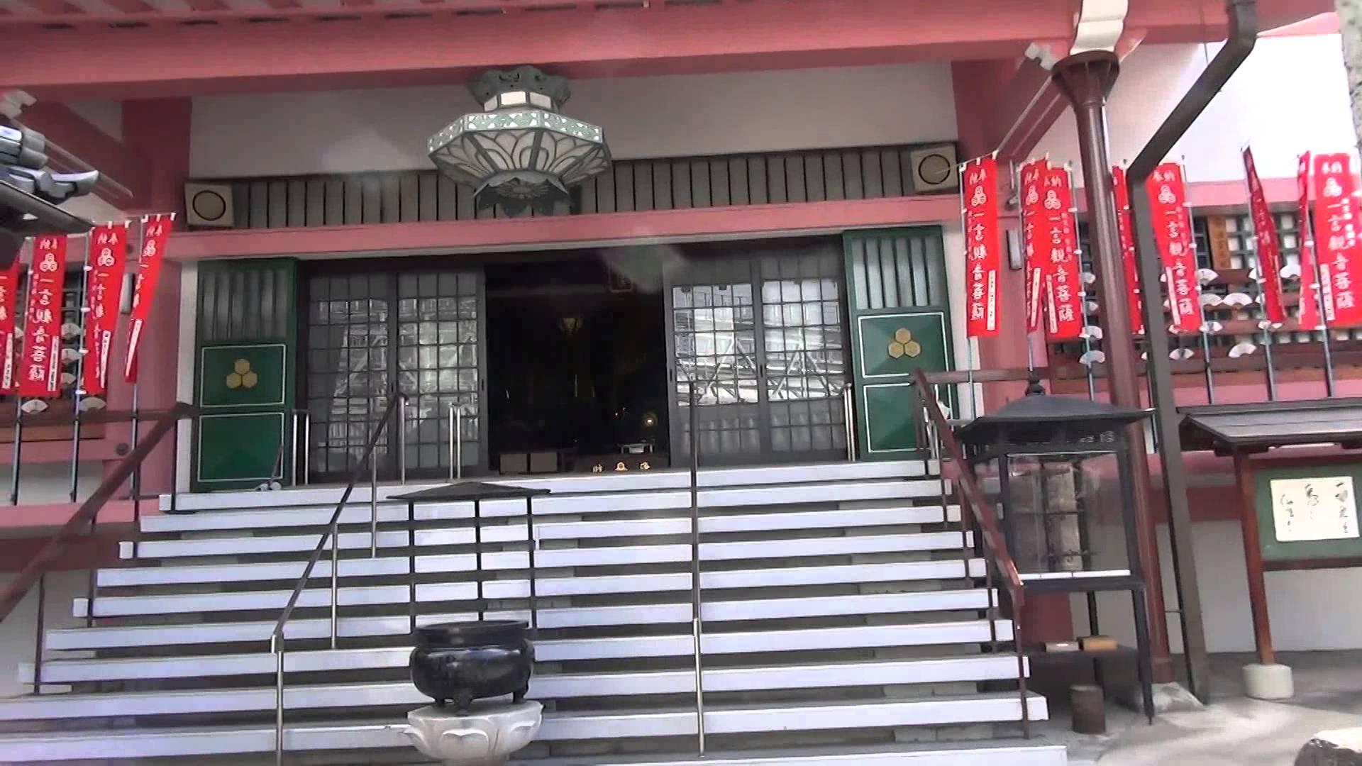 新京極商店街の神社仏閣を全部まわろう編07 総本山誓願寺の本堂から見守っていらっしゃる、ありがたーい阿弥陀如来様