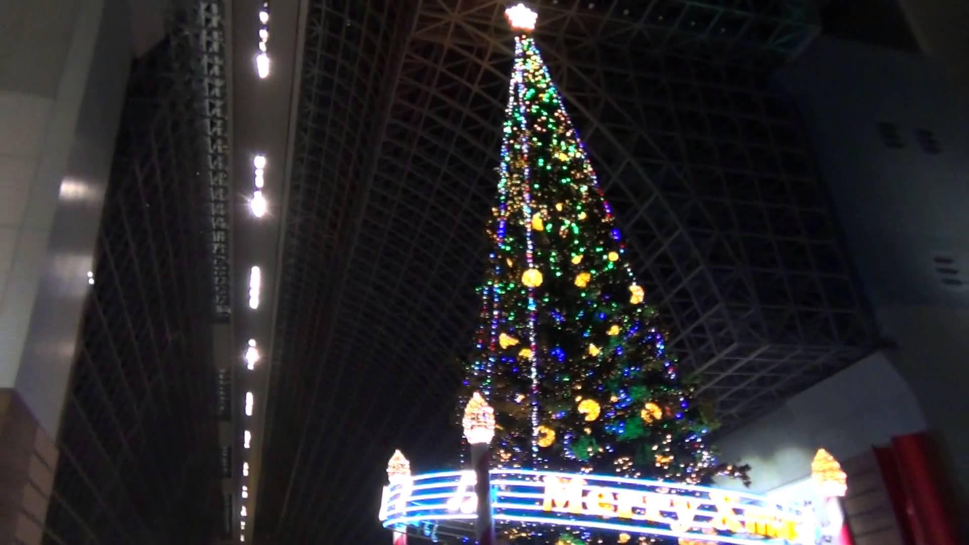 2013年版 京都駅「巨大クリスマスツリー」を激写
