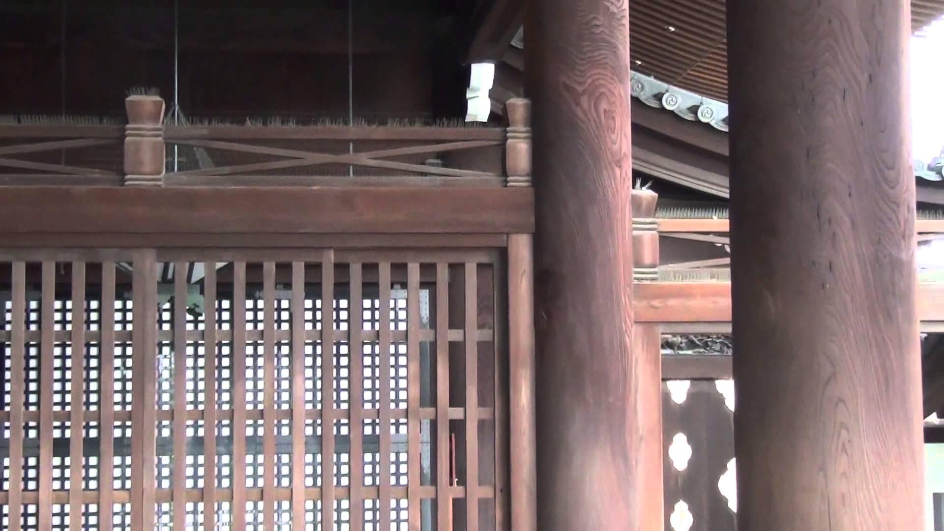 東本願寺編2 「高廊下」を歴史を感じながら歩く