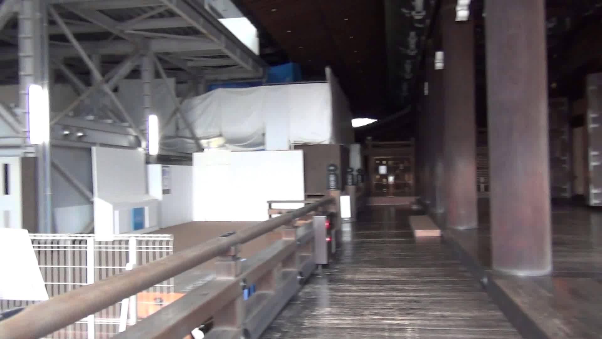 東本願寺編3 御修復工事中の阿弥陀堂はマンションになる??