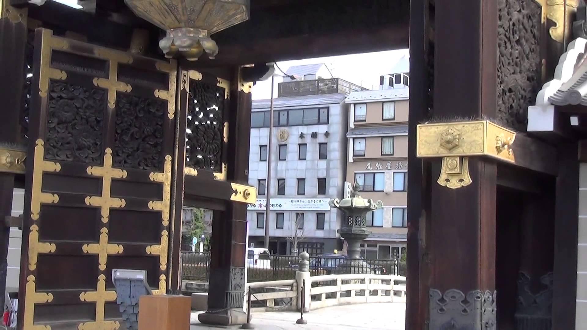 西本願寺編4 御影堂門をじっくり鑑賞