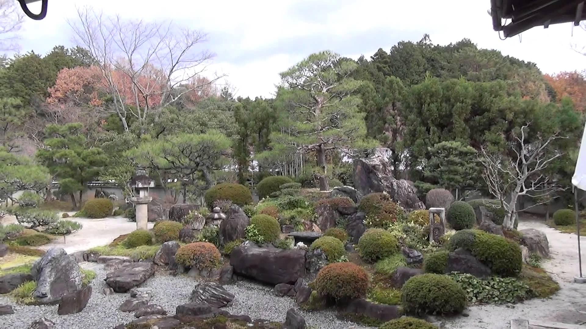 顕本法華宗 総本山妙満寺編4 わが家のようにくつろげる「雪の庭」で一休み