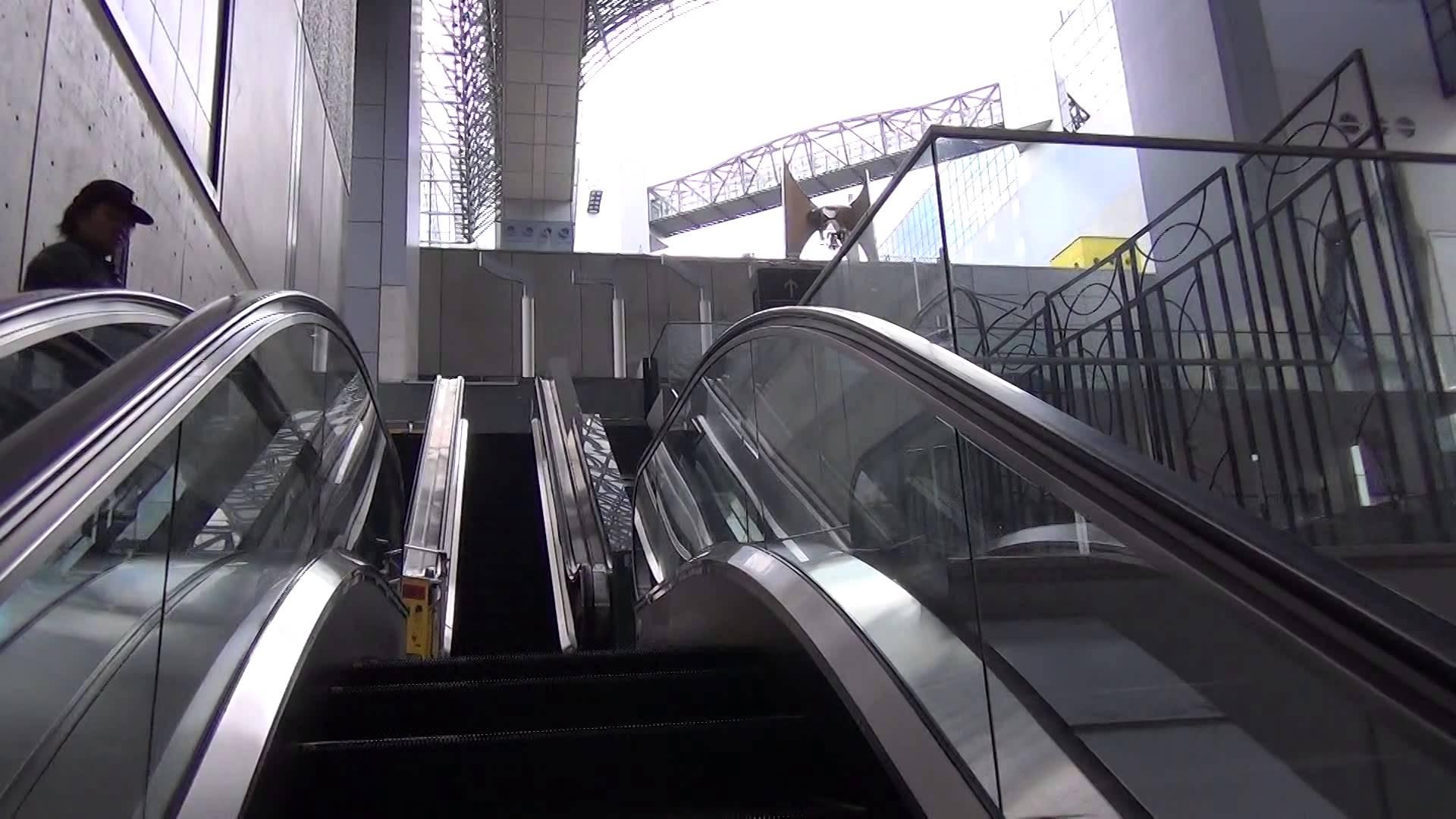 【京都動画道案内】JR京都駅(中央口)から絶景の「空中経路」まで